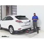 Curt  Hitch Cargo Carrier Review - 2014 Lexus RX 350