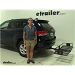 Curt  Hitch Cargo Carrier Review - 2016 Jeep Grand Cherokee
