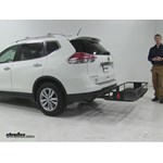 Curt  Hitch Cargo Carrier Review - 2016 Nissan Rogue