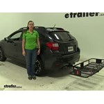 Curt  Hitch Cargo Carrier Review - 2016 Subaru Crosstrek