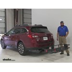 Curt  Hitch Cargo Carrier Review - 2016 Subaru Outback Wagon