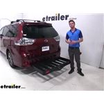 Curt Hitch Cargo Carrier Review - 2019 Toyota Sienna