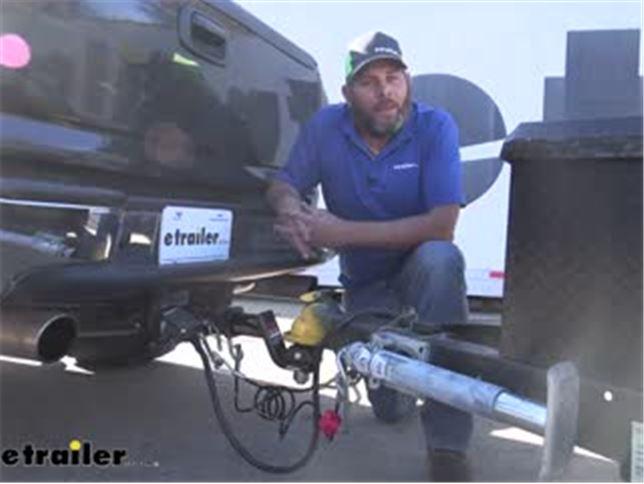 2 Diameter 1-Inch Shank CURT 40047 RockerBall Cushion Hitch Trailer Ball 7,500 lbs