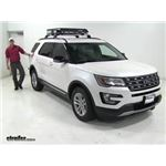 Curt  Roof Basket Review - 2016 Ford Explorer