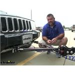 Demco Commander II Tow Bar for Blue Ox Base Plates Review