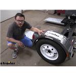 Demco Kar Kaddy Tow Dolly Radial Trailer Tire Review