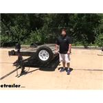 Demco Trailer Stake Pocket Spare Tire Carrier Review