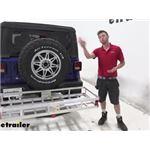 etrailer Hitch Cargo Carrier Review - 2020 Jeep Wrangler