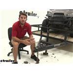 etrailer.com Stainless Steel Trailer Coupler Lock