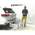 etrailer Hitch Cargo Carrier Review - 2015 Jeep Grand Cherokee