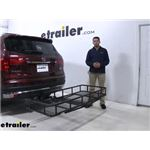 etrailer Hitch Cargo Carrier Review - 2018 Honda Pilot