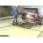 etrailer Hitch Cargo Carrier Review - 2020 Hyundai Palisade