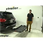 etrailer Hitch Cargo Carrier Review - 2020 Nissan Pathfinder