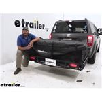 etrailer Railed Cargo Carrier LED Light Kit Review and Installation