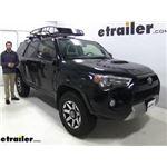 etrailer Roof Cargo Basket Review - 2019 Toyota 4Runner