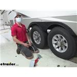 Fastway ONEstep Tandem Axle Trailers and RV XL Wheel Chocks Review