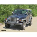 WeatherTech Rear Floor Liners Review - 2000 Jeep Wrangler