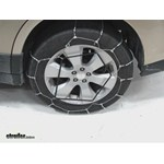 Glacier Cable Snow Tire Chains Review - 2010 Subaru Outback Wagon