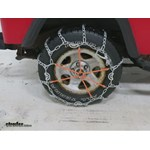 Glacier Twist Link Snow Tire Chains with Cam Tighteners Review