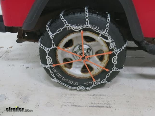 TireChain.com 2229 Truck Tire Chains with Cams Priced per Pair
