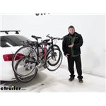 Hollywood Racks Trunk Mount Express Bike Rack with Hatch Anchors Review
