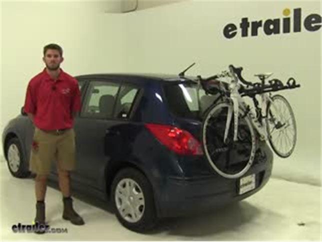 08-17 Rear 3 Bike High Carrier Car Rack To Fit Nissan Qashqai /& Qashqai 2