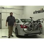 Hollywood Racks Express Trunk Bike Racks Review - 2017 Nissan Altima
