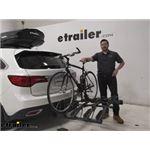 Hollywood Racks Hitch Bike Racks Review - 2016 Acura MDX
