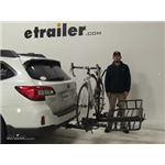 Hollywood Racks Hitch Bike Racks Review - 2017 Subaru Outback Wagon