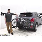 Hollywood Racks Hitch Bike Racks Review - 2020 Chevrolet Trax