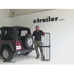 Hollywood Racks  Hitch Cargo Carrier Review - 2004 Jeep Wrangler