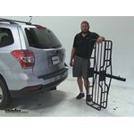 Hollywood Racks  Hitch Cargo Carrier Review - 2015 Subaru Forester