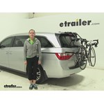 Hollywood Racks Over-the-Top Trunk Bike Racks Review - 2012 Honda Odyssey