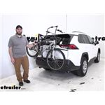 Hollywood Racks Over-the-Top Trunk Bike Racks Review - 2019 Toyota RAV4
