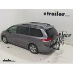 Hollywood Racks Traveler 5 Hitch Bike Rack Review - 2014 Toyota Sienna