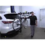 Hollywood Racks Traveler Hitch Bike Rack Review - 2015 Toyota Highlander