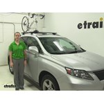 Inno  Roof Bike Racks Review - 2010 Lexus RX 350