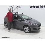Inno  Roof Bike Racks Review - 2014 Ford Fiesta