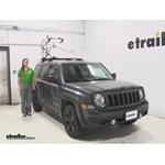 Inno  Roof Bike Racks Review - 2015 Jeep Patriot