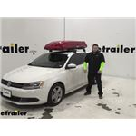 Inno Roof Box Review - 2013 Volkswagen Jetta