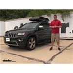 Inno  Roof Box Review - 2014 Jeep Grand Cherokee
