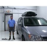 Inno  Roof Box Review - 2016 Dodge Grand Caravan