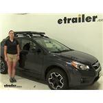 Inno  Roof Cargo Carrier Review - 2014 Subaru XV Crosstrek