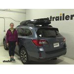 Inno  Roof Cargo Carrier Review - 2016 Subaru Outback Wagon