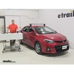 Inno  Roof Rack Review - 2014 Toyota Corolla