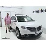 Inno  Roof Rack Review - 2015 Lincoln MKX