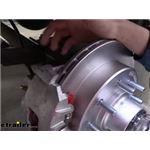 Kodiak Disc Brake Caliper Mounting Bracket Replacement Installation