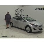 Kuat TRIO Roof Bike Racks Review - 2016 Hyundai Elantra