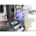 Lippert SolidStep Manual RV Steps Entry Assist Handrail Review