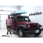 Lockrack  Watersport Carriers Review - 2013 Jeep Wrangler Unlimited